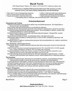 sample resume for retail store manager job interview With free retail resume examples