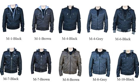 Rnz Premium Designer Men's Faux Leather Jacket
