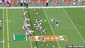 university of miami powerpoint template - clemson rushes only 2 and still sacks miami 39 s qb