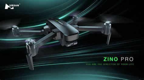 hubsan zino pro  features  range  quadcopter