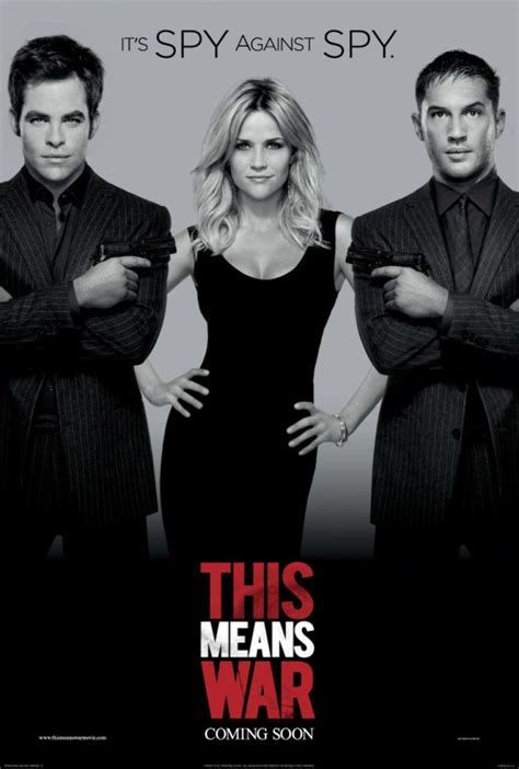New Poster For McG's This Means War With Tom Hardy, Reese ...