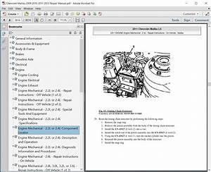 Chevrolet Malibu 2009 2010 2011 2012 Repair Manual