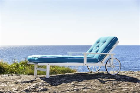 chaise miami hanne chaise lounger couture outdoor