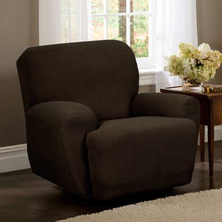 Cover Walmart by Maytex Stretch Reeves 4 Recliner Chair Furniture