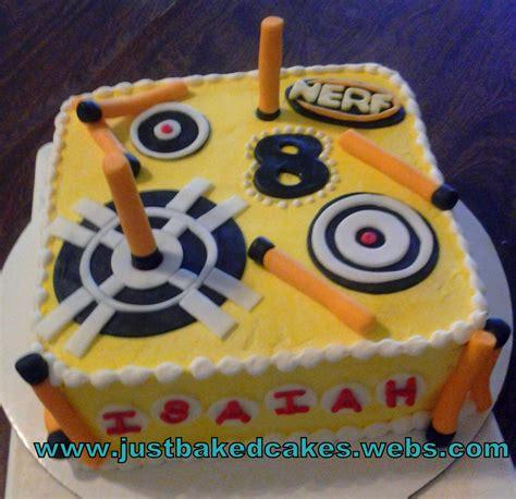 nerf birthday cake nerf themed birthday cake