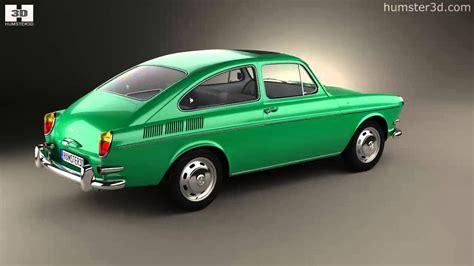 Volkswagen Type 3 (1600) Fastback 1965 By 3d Model Store