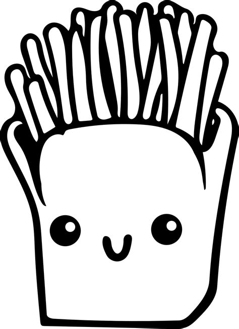 shoo clipart black and white fries drawing at getdrawings free for