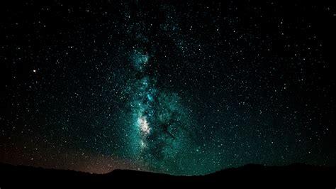 Download Wallpaper Starry Sky Milky Way Night