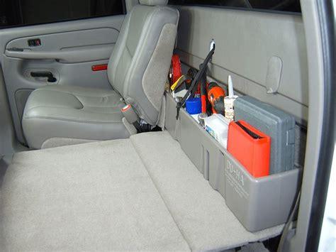 du ha   seat storage black  sharptruckcom