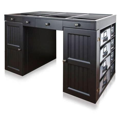 Ez View Black Craft Desk