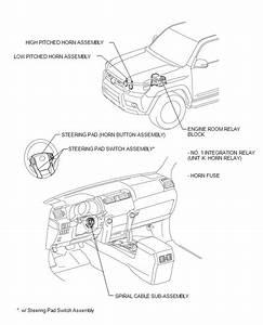 Toyota 4runner  Horn System - Horn