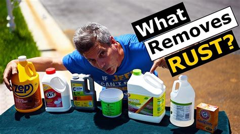 rust remove stains concrete stucco remover works