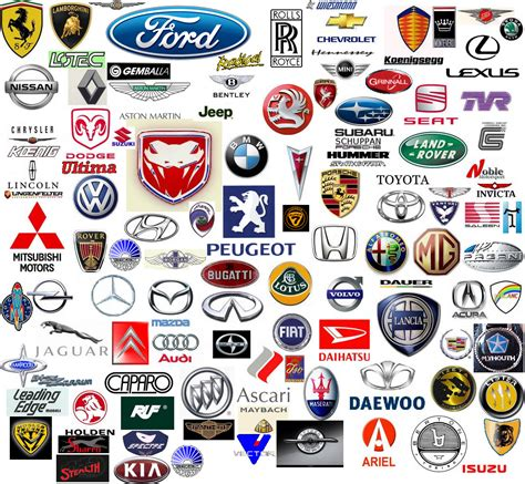 A-z Collection Of Car Logos