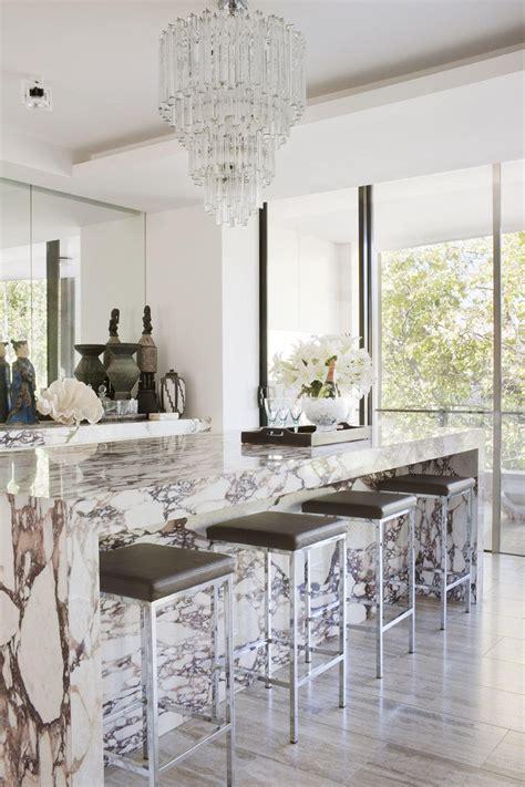 gorgeous marble kitchens