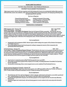 Assistant Property Manager Resume Objective If You Want To Propose A Job In Land Property You Should