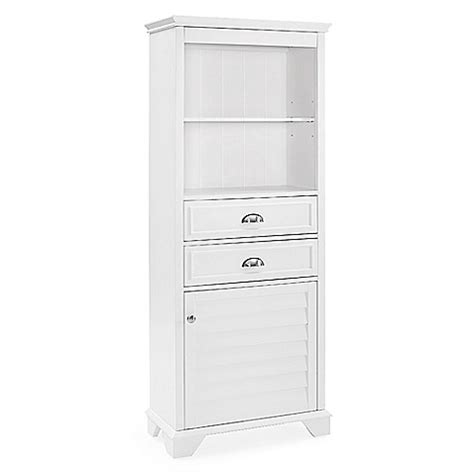 Bathroom Cabinets Bed Bath And Beyond by Buy Crosley Lydia Bath Cabinet In White From Bed Bath Beyond