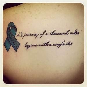 Ribbon Tattoo Q... Ribbon Quotes
