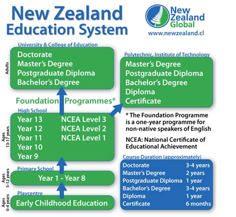 zealand education system amcan immigration