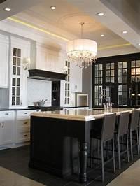 black kitchen island Black Kitchen Island Design Ideas