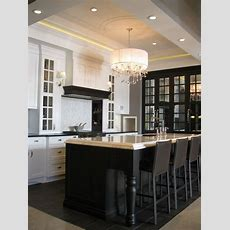 Black Kitchen Island Design Ideas