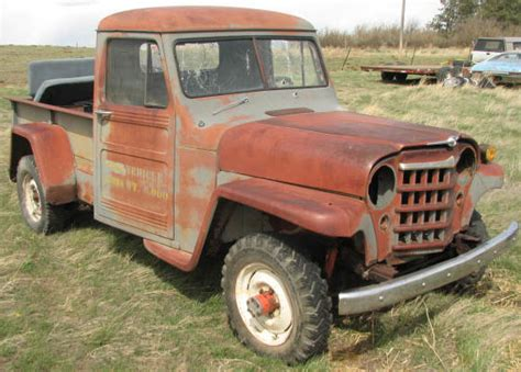 willys jeep pickup for sale restored restorable jeep 4x4 classic vehicles for sale