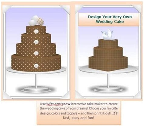 design your own cake rad event production inc design your own wedding cake