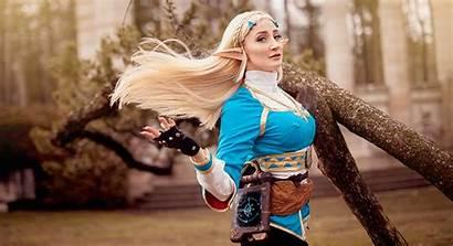 Zelda Cosplay Breath Wild Holly Wolf Kotaku