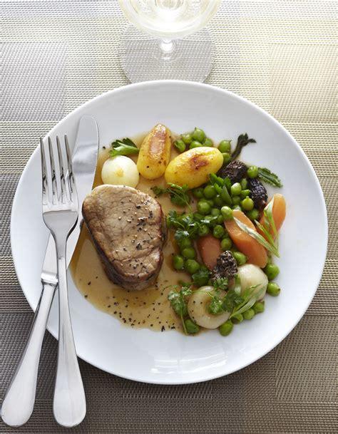 veau cuisine veau légumes et morilles pour 4 personnes recettes