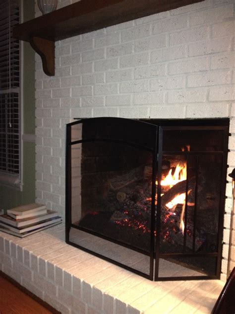 Fireplace Paint - goodbye house hello home decor coaxing paint