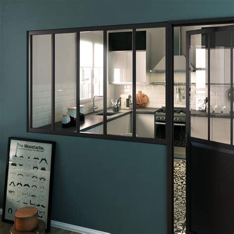 idee chambre parentale avec salle de bain une verrière d 39 intérieur au style industriel leroy merlin