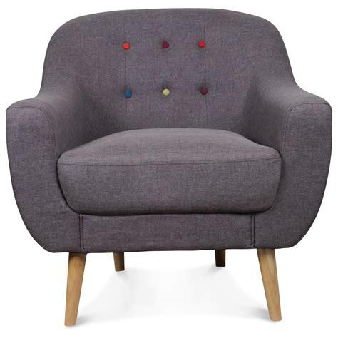 fauteuil crapaud scandinave gris boutons color 233 s bjort demeure et jardin