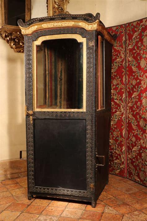 Chaise à Porteurs Pour Dame, Vers 1760, Région De Turin