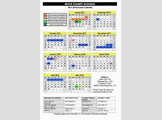 201718 Calendar Approved Boyle County Schools