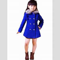 New Kids Girls Clothes Children Winter Coat Faux Wool Jacket Outerwear Ft674 Ebay