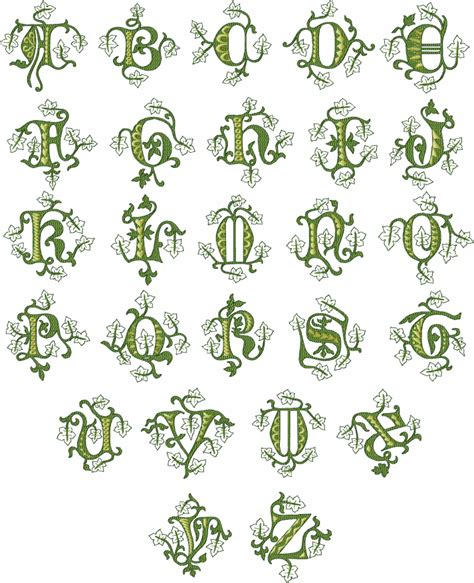 queen forest monograms