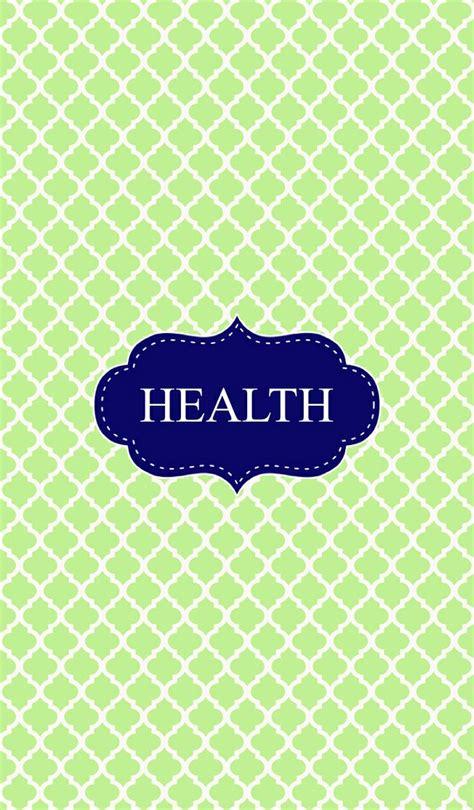 green health binder cover binder covers pinterest binder printable binder covers