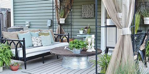 patio furniture on a budget home design ideas and pictures liz patio before and after patio decorating ideas