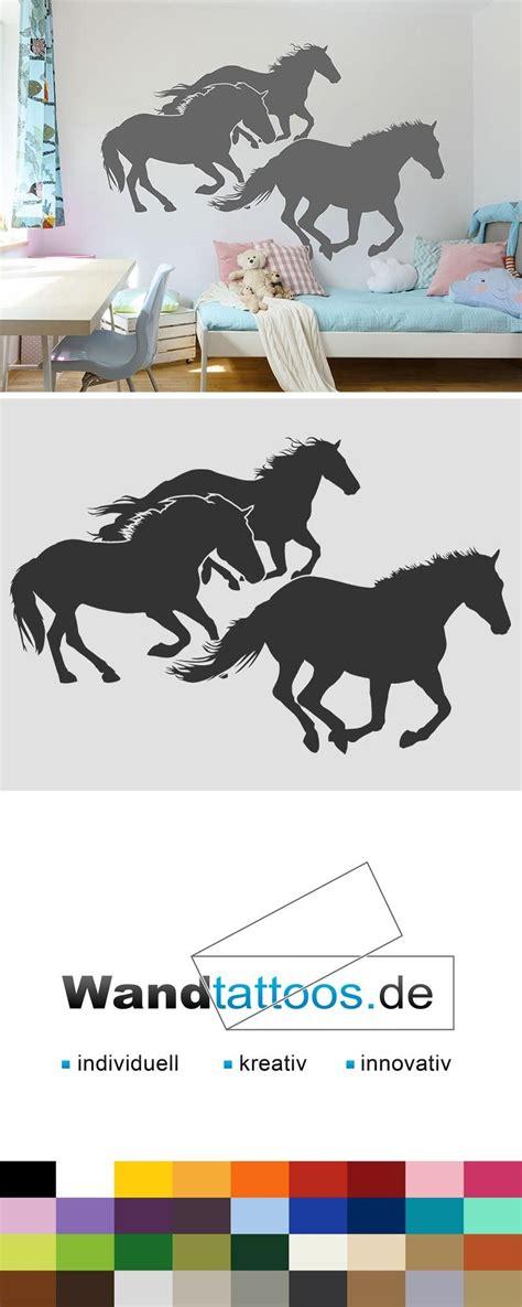Kinderzimmer Wandgestaltung Pferde by Wandtattoo Traumhafte Pferde Herde In 2019 Kinderzimmer