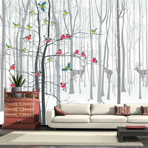 papier peint 4 murs pour salon