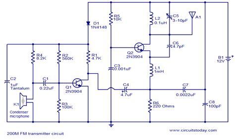 Transmitter Electronic Circuits Diagrams