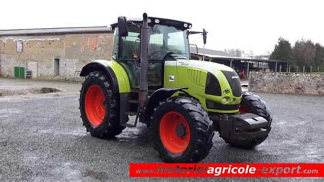 siege tracteur agricole occasion claas ares 617 atz tracteur agricole d occasion 2006 4 rm