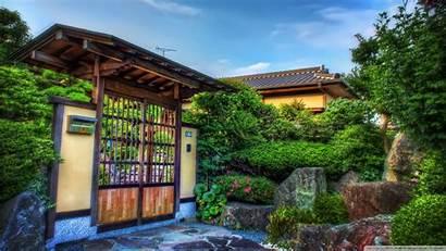 Japanese Gate Wooden Desktop 4k Wallpapers Uhd