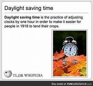 Daylight Saving Time Meaning Funsubstance