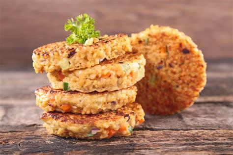 comment cuisiner du quinoa fazuľové placky z quinoy s koriandrovým dipom recepty na