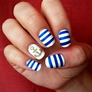 cute nail designs for short nails to do at home | cute ...