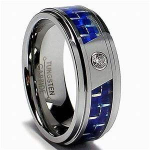 wedding rings for men with blue wedding inspiration With blue mens wedding rings