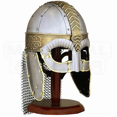 Viking Helmet Wolf Leather Helmets Armour Chainmail