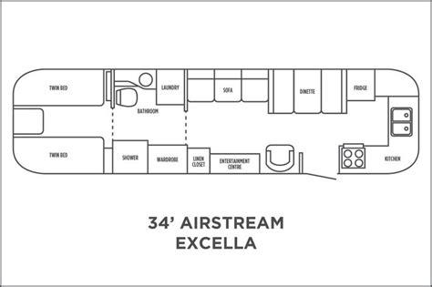 airstream excella floor plan airstream airstream