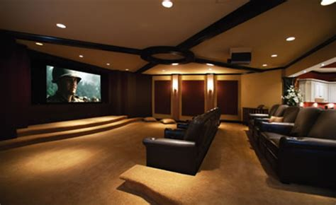 Basement is a home to super wide CinemaScope home theater!