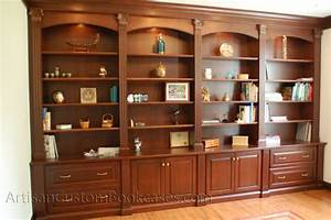 Custom Home Office Wall Unit - Artisan Custom Bookcases